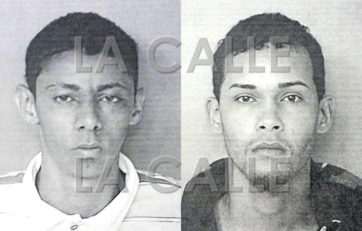 Fotos de las fichas de Bernando Carrero Desardén y Roberto Durand Arroyo (Suministradas Policía)