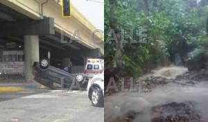 Lluvias afectan semáforos esta tarde en carreteras de Mayagüez