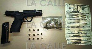 Arrestan en San Sebastián sujeto armado que era buscado por varios delitos