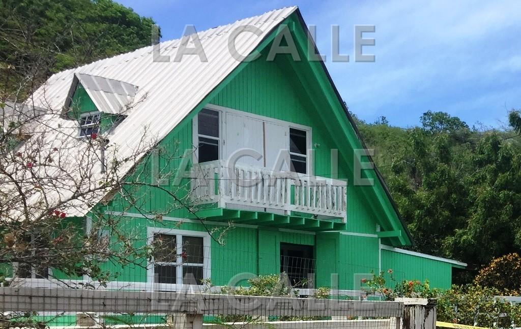 La residencia donde ocurrió la tragedia (Foto LA CALLE Digital).