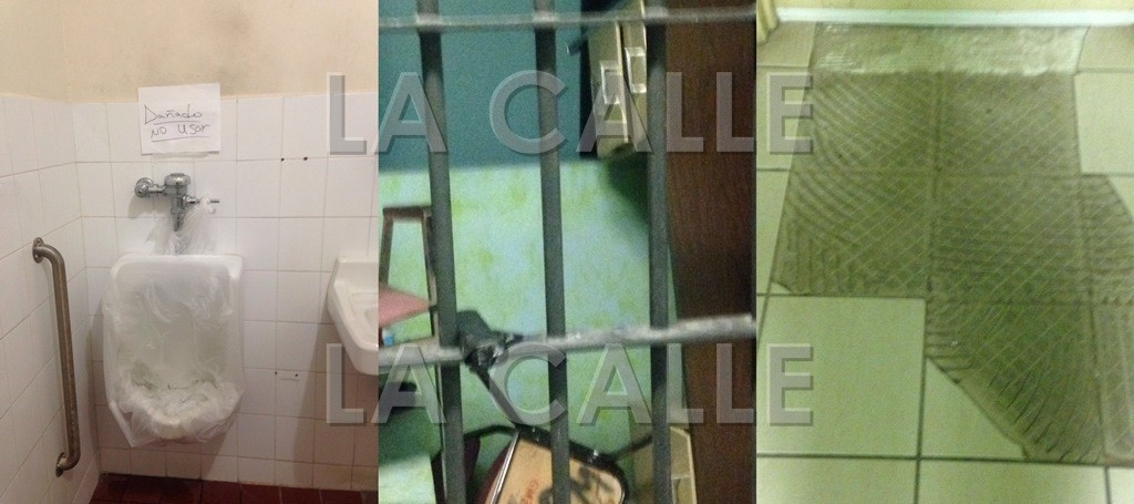 Condiciones en las que se encuentra el cuartel de la Policía de Hormigueros (Suministradas).