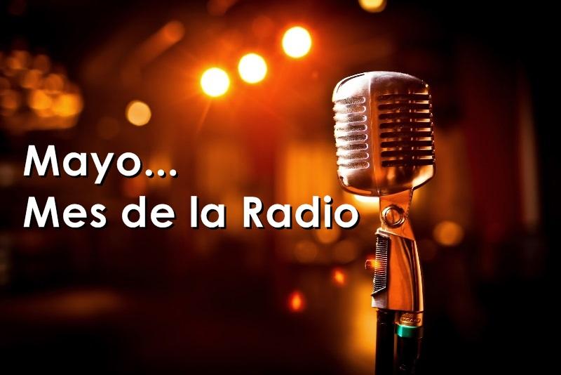 radio microfono mes de la radio