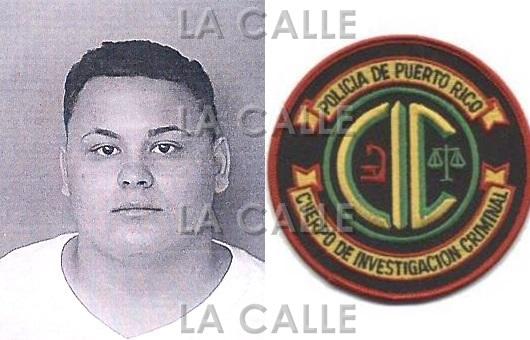 Foto de la ficha de Edward Ortiz Rodríguez (Suministrada Policía).