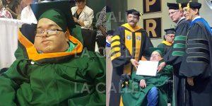 Otra historia de éxito COLEGIAL: Kristopher cumple su sueño de graduarse de Ingeniería Química
