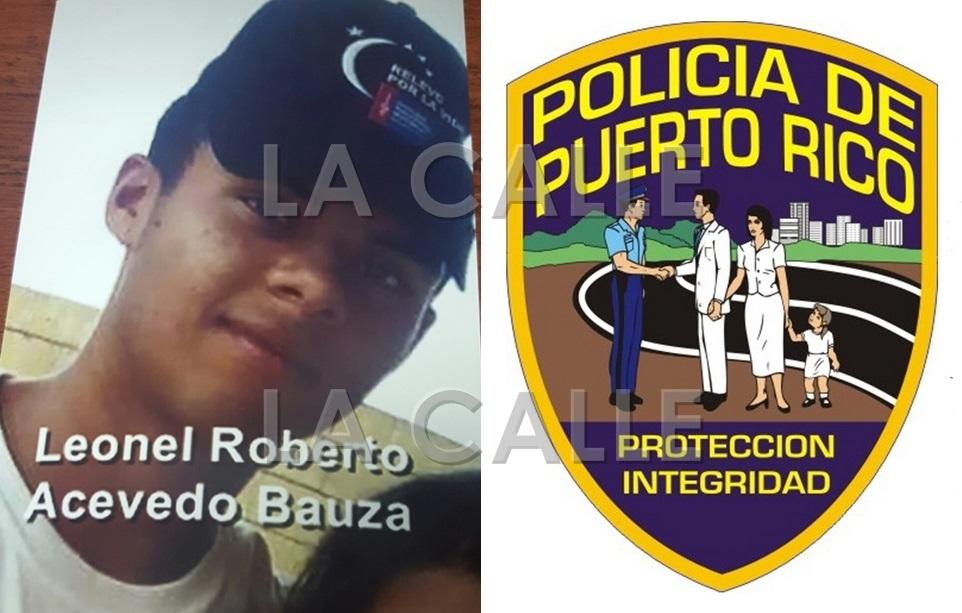 Foto de Leonel Roberto Acevedo Bauzá (Suministrada Policía)