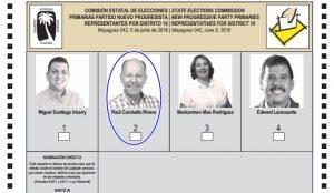 CEE no contará los votos de aspirante PNP a representante por Mayagüez