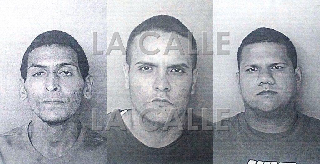 Fotos de las fichas de José M. Olán Agostini, Jonathan Valentín Meléndez y Angel D. Castro Borrero (Suministradas Policía).