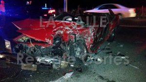 Aparatoso accidente fatal esta madrugada en la PR-111 en Moca