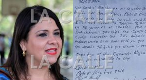 "Senadora Mari Tere González considera ""injusto"" boleto que le dieron en Cabo Rojo"