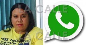 """Federación Maestros denuncia """"hackean"""" cuenta de WhatsApp de su presidenta"""