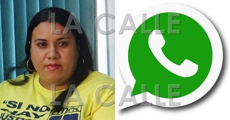 """La presidenta de la Federación de Maestros, Mercedes Martínez, alega que su cuenta de WhatsApp fue """"hackeada"""" por segunda ocasión."""