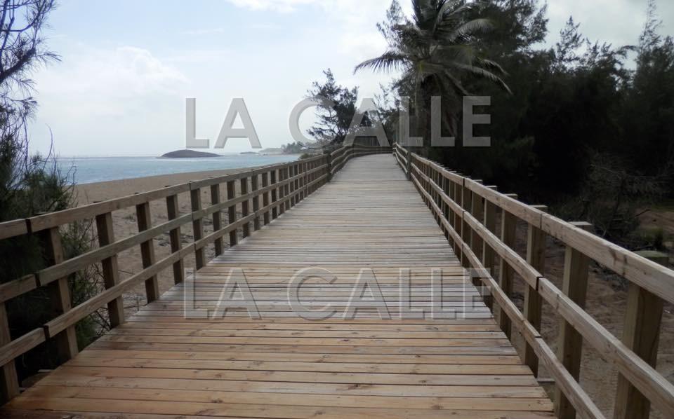 Así quedó el Paseo Lineal Costero de Isabela (Suministrada Municipio de Isabela).