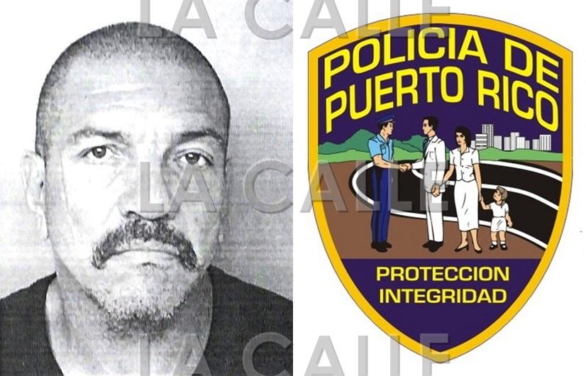 Foto de la ficha de Luis Cabán Morales (Suministrada Policía).