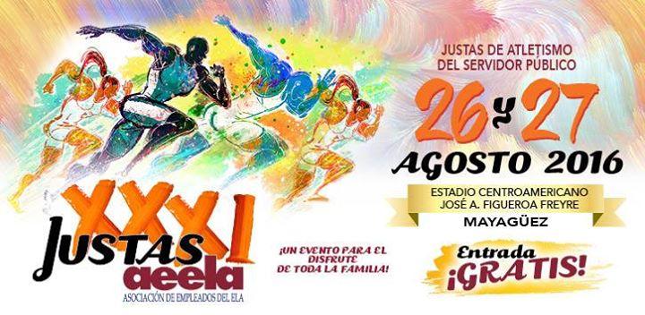 Afiche oficial de las Justas de la AEELA 2016.