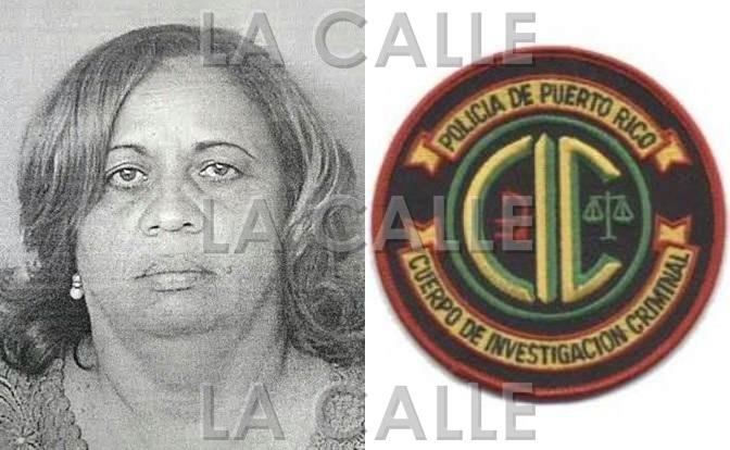 Foto de la ficha de Lissette Acosta Báez (Suministrada Policía).