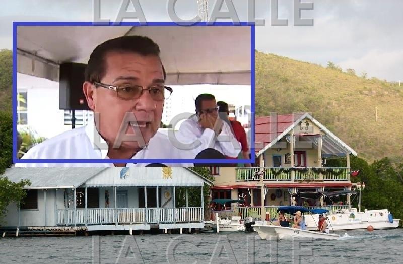 """El alcalde de Lajas, Marcos """"Turín"""" Irizarry, dijo que nadie va a sacar las casas de La Parguera."""