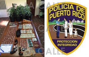 Arrestan dos venezolanos… Confiscan drogas, armas y dinero en Aguada