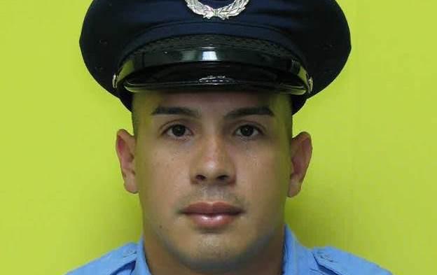 El agente Angel Anés Rodríguez necesitan donantes de sangre (Suministrada Policía).
