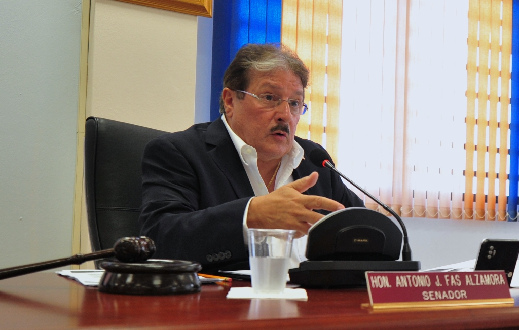 Senador Antonio Fas Alzamora (Archivo).