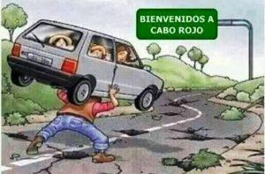 Candidato pide atención para la deteriorada carretera PR-102 de San Germán