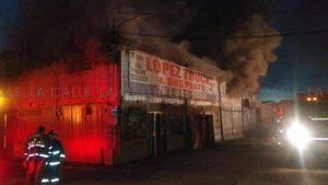 Seguía esta noche extinción de incendio en Hormigueros