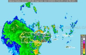 Aviso de inundaciones esta tarde para Mayagüez, Hormigueros, Cabo Rojo y San Germán