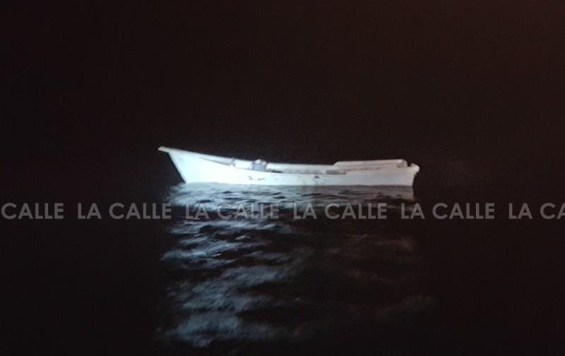 Esta embarcación fue hundida en frente a la costa de Aguadilla, luego de la confiscación de la droga (Suministrada CBP).