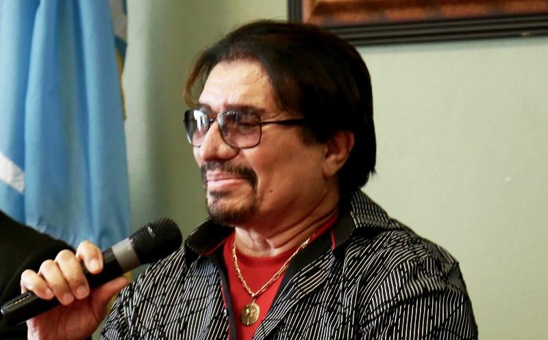 El mundialmente conocido cantante hormiguereño, Bobby Cruz (Suministrada).