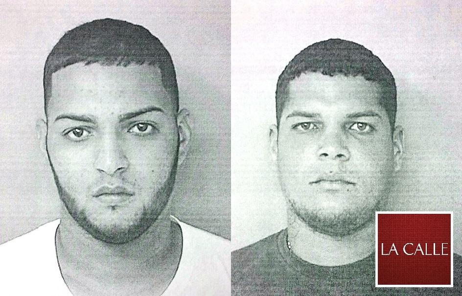 Fotos de las fichas de Harry Rodríguez y James Delgado (Suministradas Policía).