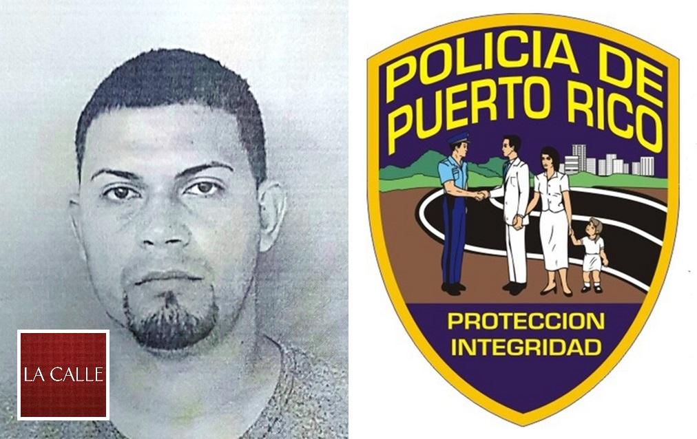 Foto de la ficha de Jonathan Méndez Cabrera (Suministrada Policía).
