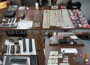 Arrestan cuatro personas y ocupan drogas en dos casas del barrio Trastalleres de Mayagüez