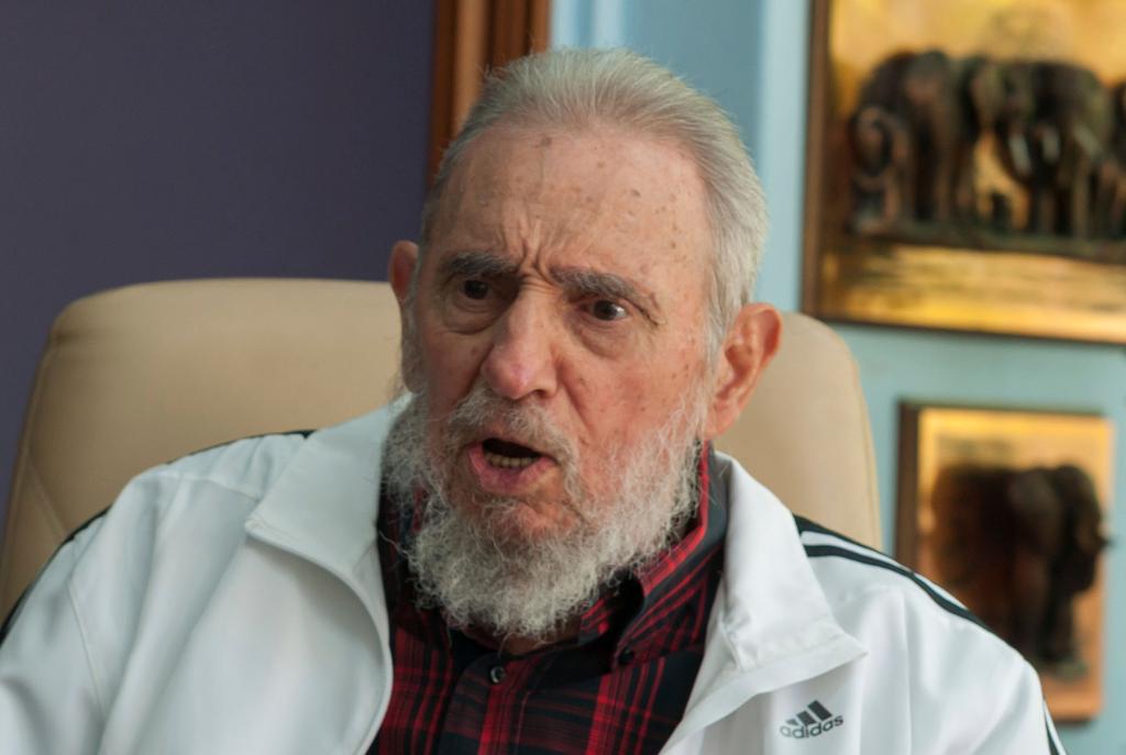 El expresidente cubano Fidel Castro Ruz (Archivo).