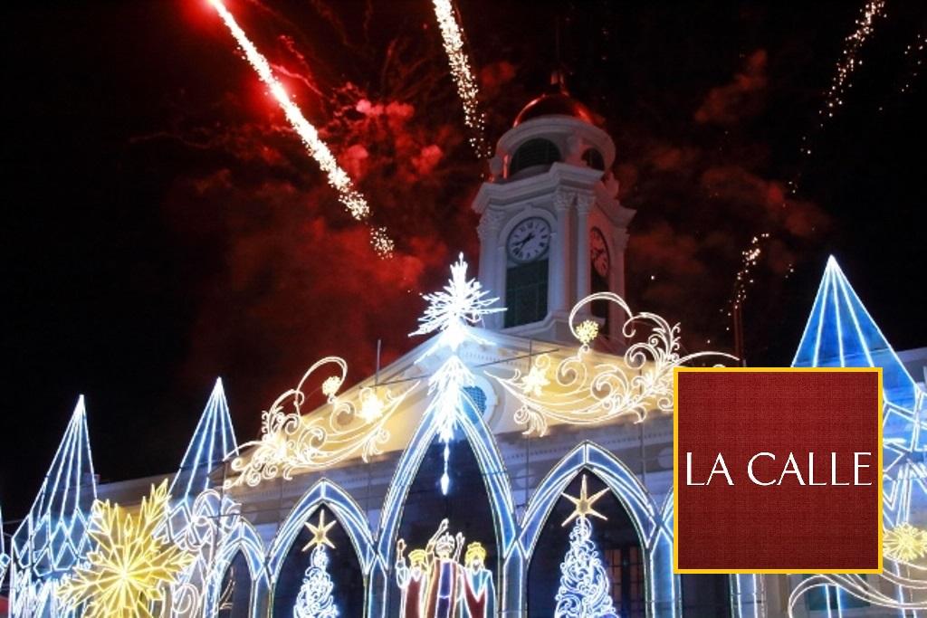 El tradicional encendido navideño será este sábado (Archivo).