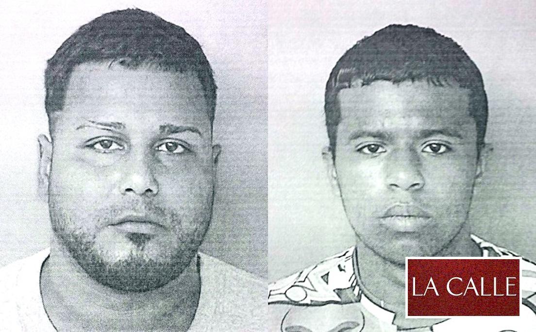 Fotos de las fichas de Jean C. Matos Rodríguez y Efraín G. Vélez Nieves (Suministradas Policía).