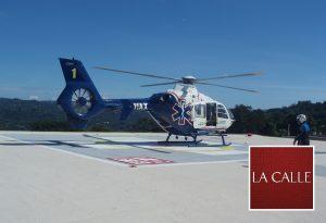 Hospital Bella Vista estrena moderno helipuerto para transporte de pacientes críticos 24 horas