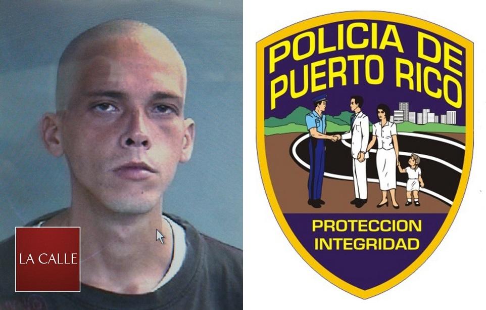Foto de la ficha de Rubén Aponte Miranda (Suministrada Policía).