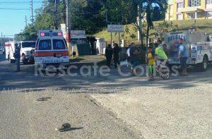 Peatón muere atropellado esta mañana en Aguada (Preliminar)