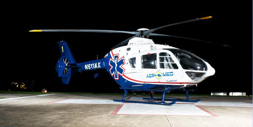La perjudicada fue transportada en ambulancia aérea al Centro Médico de Río Piedras (Archivo).