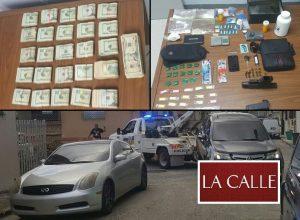Arrestan sujetos en el barrio París de Mayagüez y les confiscan cerca de $30 mil en efectivo, drogas y armas