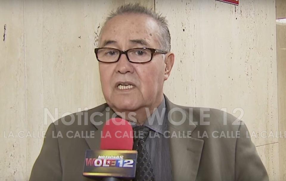 Licenciado Edwin Sepúlveda, abogado de Jan Carlo Feliciano Vega (Captura de pantalla/Noticias WOLE 12).