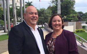 Representante electa Maricarmen Más anuncia pesquisa sobre estado de facilidades deportivas Mayagüez 2010
