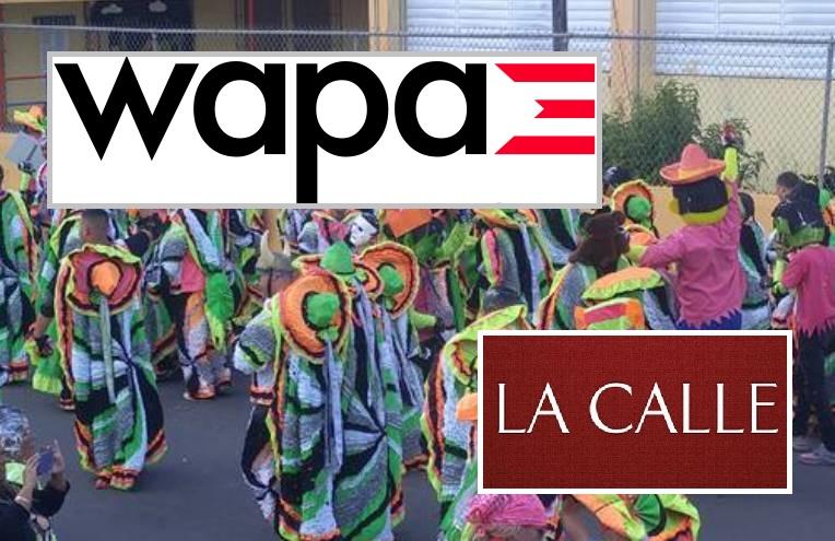Varias personas fueron llevados al hospital y un vehículo de WAPA TV fue vandalizado.