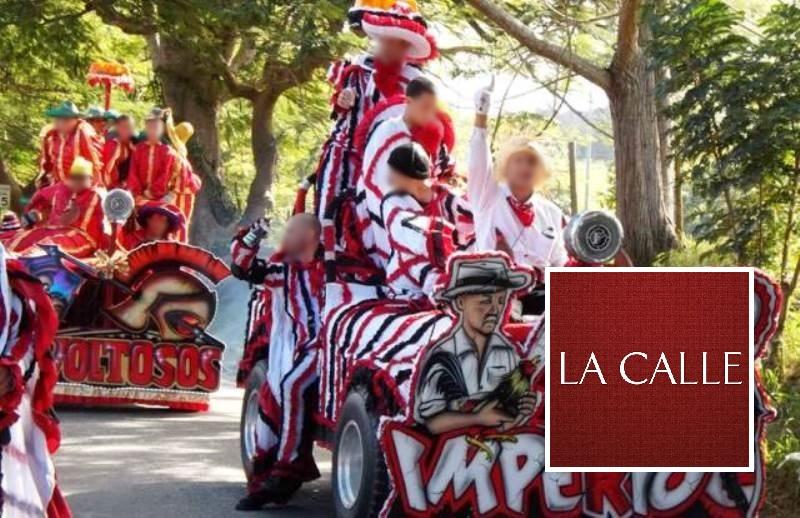 Escena de una celebración anterior de la Fiesta de las Máscaras de Hatillo (Archivo).