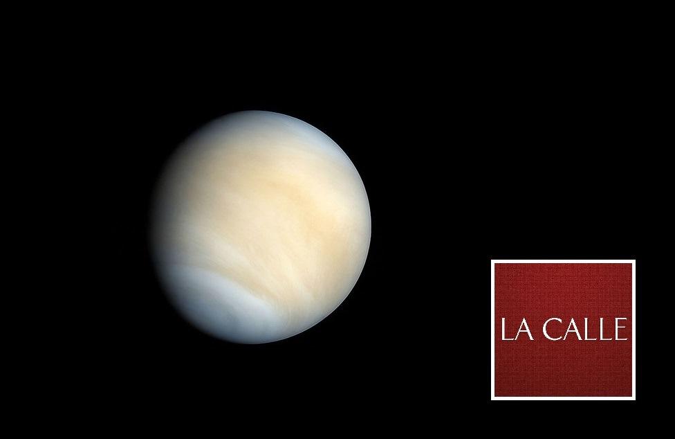 El planeta Venus (Foto NASA).