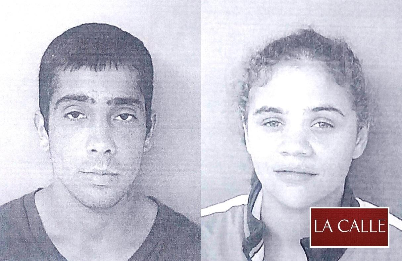 Fotos de las fichas de Alexander Cruz González y Stephanie Figueroa García (Suministrada Policía).