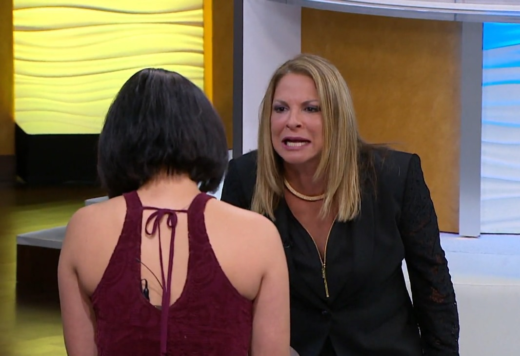 """La doctora Ana María Polo en el """"capítulo 1590"""" de su programa """"Caso Cerrado"""" (Captura de pantalla)."""