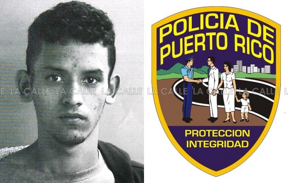 Foto de la ficha de Kelvin J. Crespo Charneco (Suministrada Policía).
