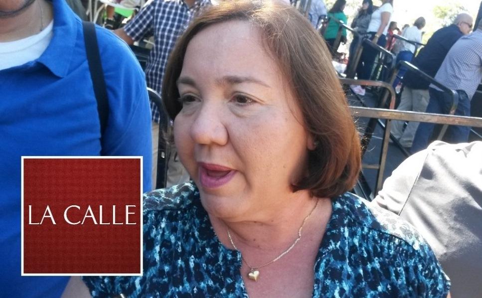 La representante Maricarmen Más reacciona al incidente (Foto Julio Víctor Ramírez, hijo/LA CALLE Digital).
