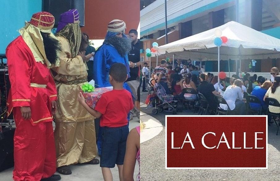 Parte de la actividad de Reyes celebrada en Yauco (Suministradas Policía).