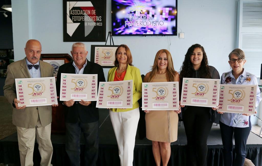 En el orden acostumbrado, Wilson Nazario, Gilberto Conde Román, Oneida Olivieri, Betsy Velázquez, Gabriela Concepción y Lian Méndez Clark (Suministrada).